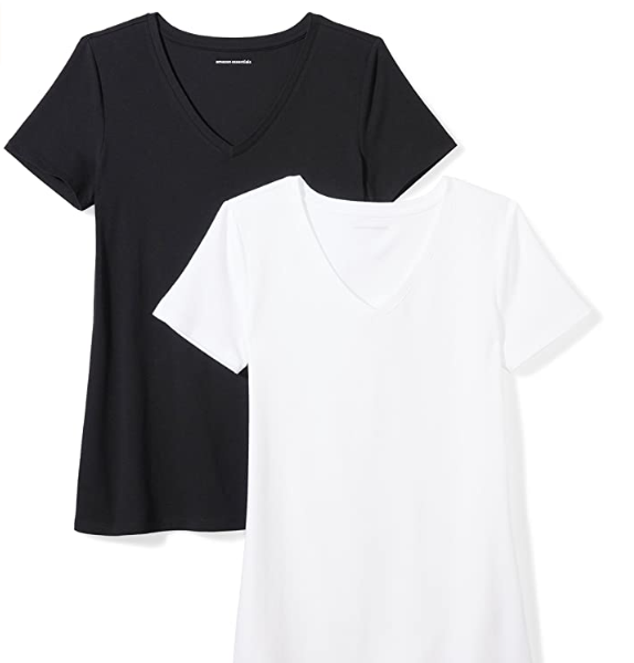 Women's 2-Pack Classic-Fit Short-Sleeve