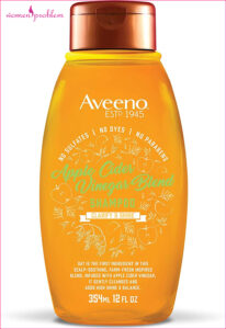 Aveeno Scalp Soothing Shampoo, Apple Cider Vinegar Blend