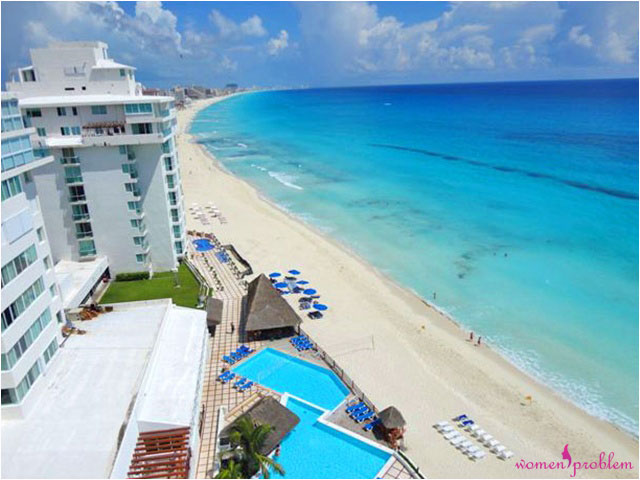 Beach vacation in Cancun
