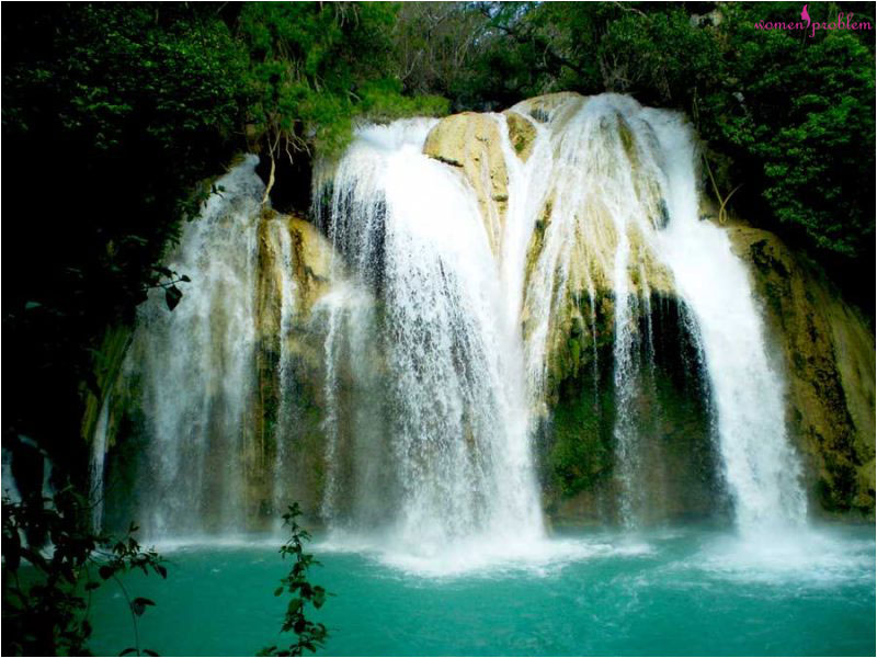 Lagoons and waterfalls in Chiapas