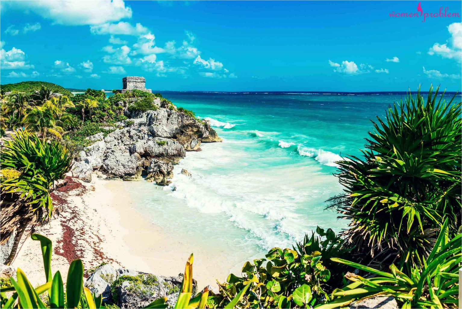 Mayan site Tulum on the Caribbean