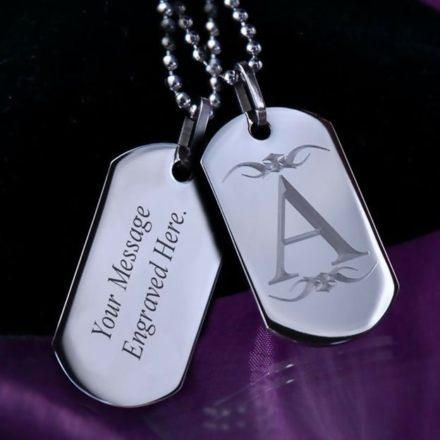 Personalized Necklace Metal Preference